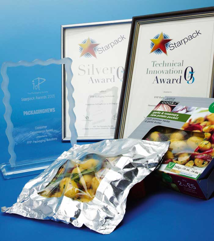 Qbag wins Starpack 'Technical Innovation' 'Silver' and DuPont 'Technical Innovation' Awards in 2005