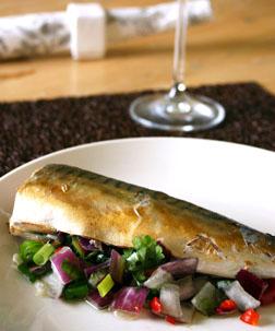 Steamed Mackerel
