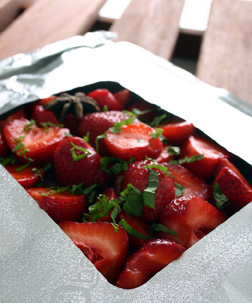 Strawberries & Balsamic Vinegar
